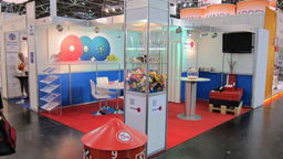 Messestand steintex